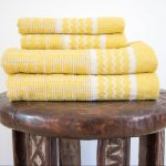 Kuba Cotton Bath Sheet