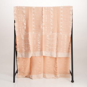 Bogolan Bedroom Cotton Throw – Nude