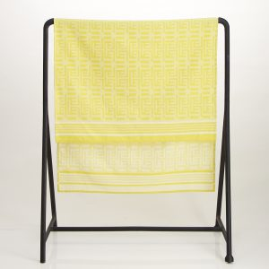 Kuba Cotton Waffle Bath Sheet – Yellow