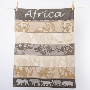 Africa Tea Towel