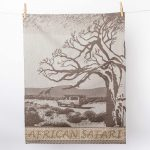 African Safari Tea Towel