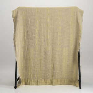 Bogolan Linen Throw – Mustard