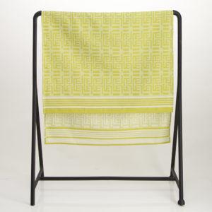 Kuba Cotton Waffle Bath Sheet – Chartreuse