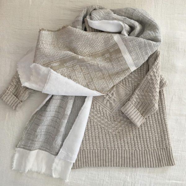 100% linen bogo scarf