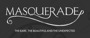 Masquerade unique home decor logo