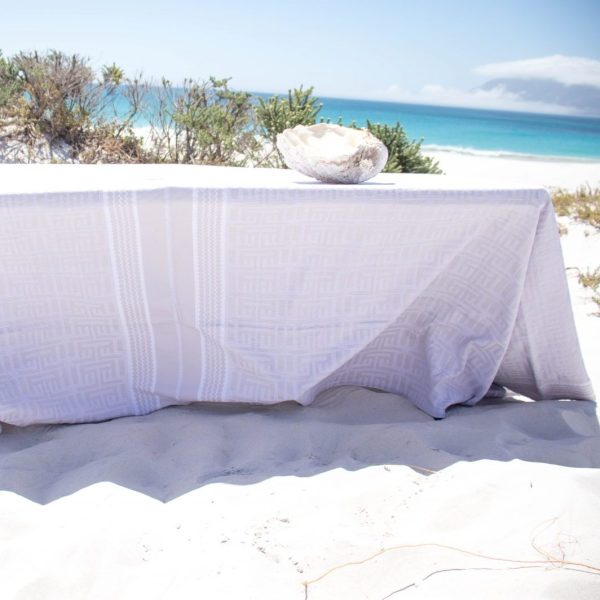 kuba tablecloth