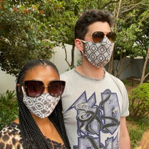 100% Cotton Summer Fabric Face Mask – Adult