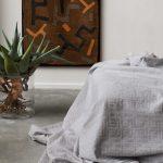 Kuba Cotton Bed Throws