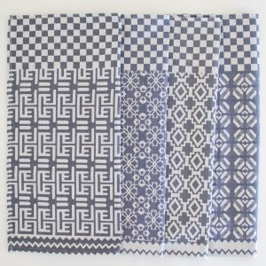 100% Cotton Penta Indigo Napkins