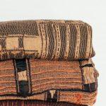Metallic Bogolan Bedspread