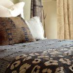 Metallic Leopard Bedspread
