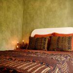 Metallic Bogolan Bed Throw