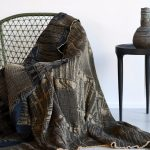 Metallic Bogolan Throws & Bedspreads