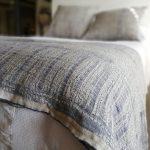 100% Linen Bogolan Bed Throws