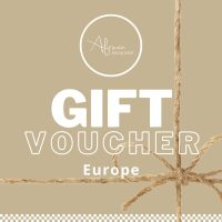 Select this gift voucher if you are sending to family or friends in Europe