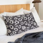 Metallic Leopard Cushion Cover